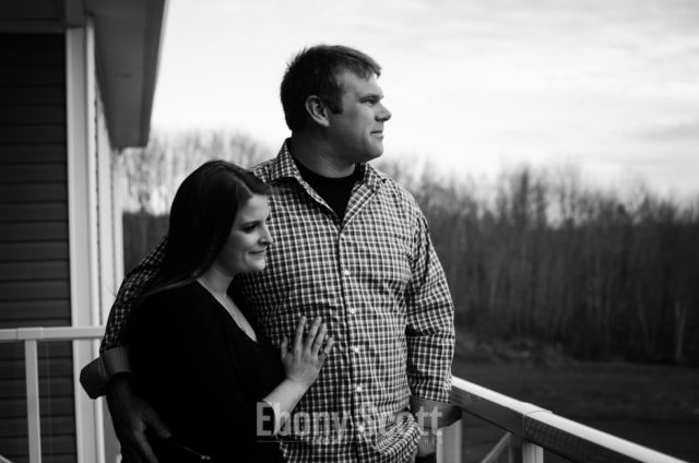 Woodstock NB Engagement Portraits - Robert and Kelly