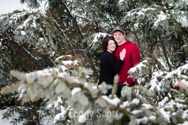 Woodstock Winter Engagement with Ben and Brooke