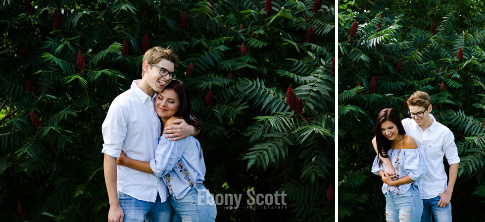 Woodstock Graduate Photos with Charlie